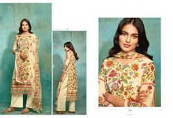 Cotton Satin Printed with Embroidery Kurti