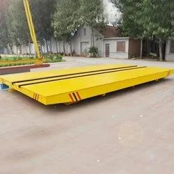 Mild Steel Motorized Transfer Carts, For Industrial, Load Capacity: upto 50 ton