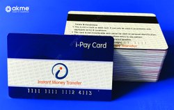 Blue Hich Quality Plastic Card Printing, Size: 86mm X 54mm