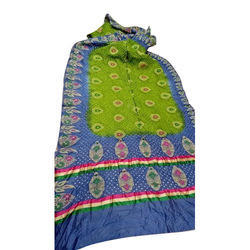 Silk Multicolor Gadwal Saree