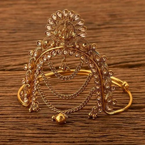 Antique Temple Baju Band With Gold Plating 200641