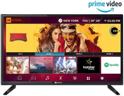Kodak 32HDXSMART 80 Cm (32 Inches) HD Ready LED Smart TV Pro