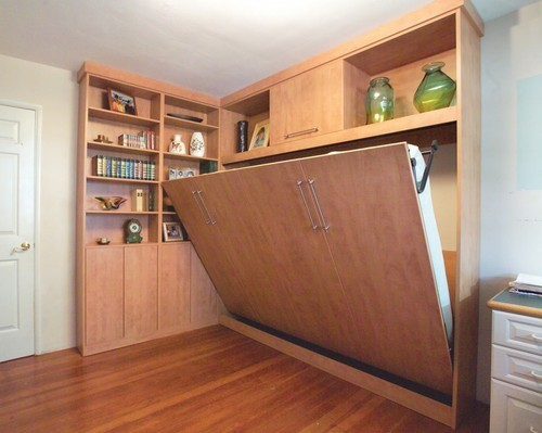 Wall Mount Hidden Cot with Storage Cabinets at Rs 975/square feet ...