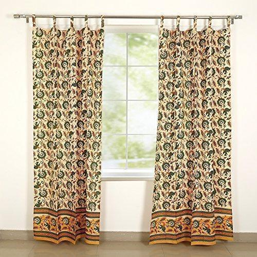 Multicolor Cotton Window Curtain