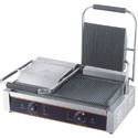 Mild Steel Double Sandwich Griller, for Restaurant, Capacity: 120 Sandwich/ Hour