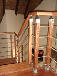 Modern Wooden Handrails
