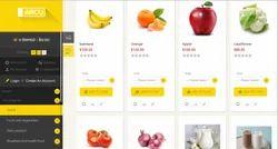 Online Vegetable Mart Website (E Commerce Website)