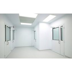 Mild Steel Clean Room Door