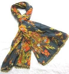Cotton Printed Rayon Stole