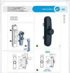 Window Detachable Handle Lock