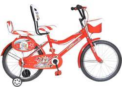 Mustang Champion IBC Bike For kids Of Age 7-8Yrs Red&White 20 T Single Speed Recreation Cycle