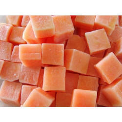 Frozen Papaya Cubes