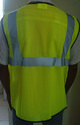 Reflective Safety Jacket Front Opening 2V 1H