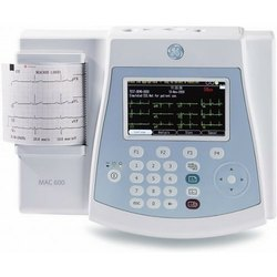 GE Healthcare Instant ECG Service With ECG Interpretation, Portable, Mac 600