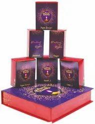 Paper Multicolor Diwali Pooja Box for Home