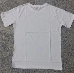 Biowash Round Neck T- Shirt Plain