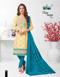 Nagmani Prem Rangi Vol-5 Multiple Color Cotton Printed Dress Material Catalog