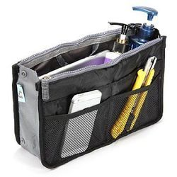 Black Hand Bag Organizer