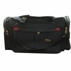 Pu Black Travel Bags
