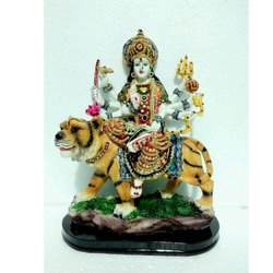 Resin Maa Sherawali Statue