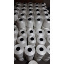 2 Ply 30 Count White Polyester Yarn For Textile Industries