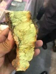 Natural Rough Lemon Chrysoprase Stones