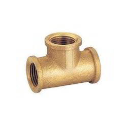 Brass Female Tee Elbow