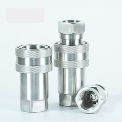 Quick Release Hydraulic Couplings ISO-7241-A SERIES