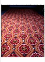 NONWOOVEN Rectangular Printed PVCR Floor Carpet, for Home