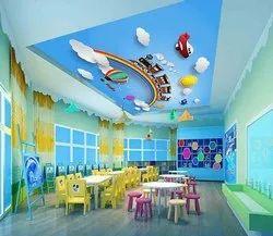 3 Months Kindergarten And Play School Interior Designing Services
