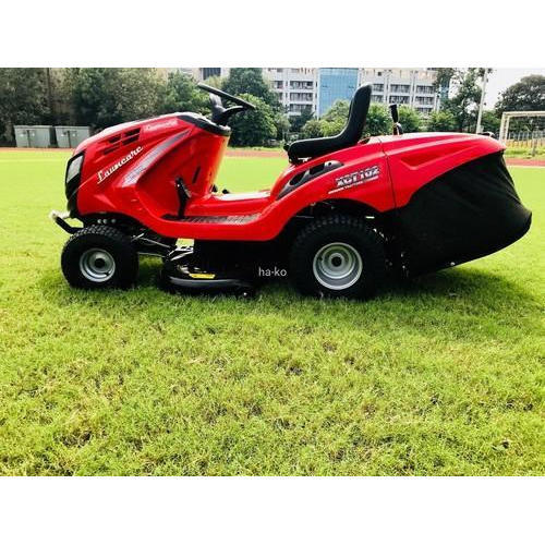 Red Ride On Lawn Mower