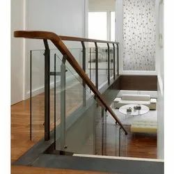 Residential Tempered Glass Railing