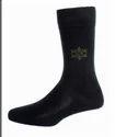 Men Formal Socks Full Leg Black