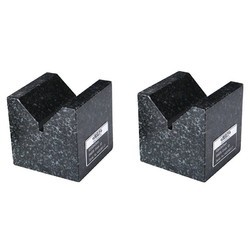 V Block Set Granite Insize