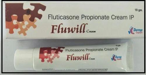 Fluticasone Cream 1 % ( Fluwill Cream )