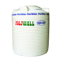 Plastic White Water Tanks, Capacity: 200 to 10000 L