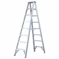 Aluminium Fold Double Step Trestle Ladder