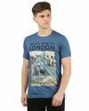 Mens Round Neck Printed T Shirt