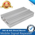 High Gain Dual Band 2G, 4G Mobile Signal Booster Repeater (Coverage 8000 sq. feet)