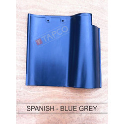 Ceramic Color Coated Spanish Blue Grey Roofing Tile