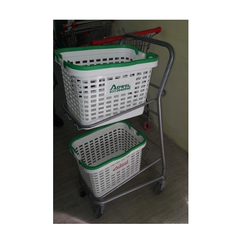 Super Market Basket Trolley