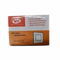 Wit Switch Light, 240 V
