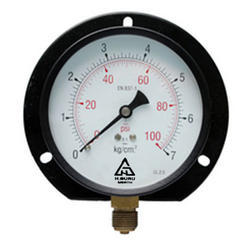 H.GURU 100MM Dial Commercial Pressure Gauge, Bottom 3/8BSP