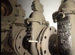 Cast iron sluice valves flanged