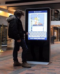Digital Signage Display Standee without touchscreen