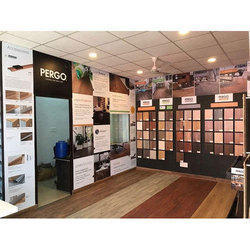 Pergo Brown Wooden Flooring