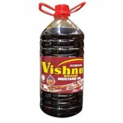 Vishnu 5 Litre Mustard Oil, Packaging Type: Plastic Bottle