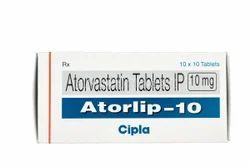 10 mg Atorvastatin Tablets IP