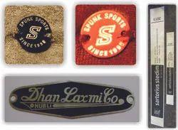 Brass, Steel, MS Metals Labels.