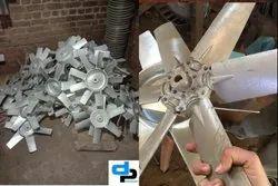 Aluminum Impeller 8 Blade Dia 1000 mm